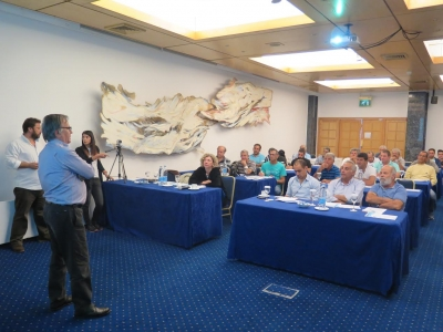 APC s.a. at workshop about coastal fisheries in Cyprus